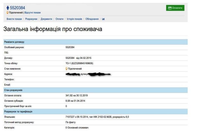 Lvivenergosbut osobistij kabinet - Львовэнергосбыт. Как зарегистрироваться в личном кабинете.