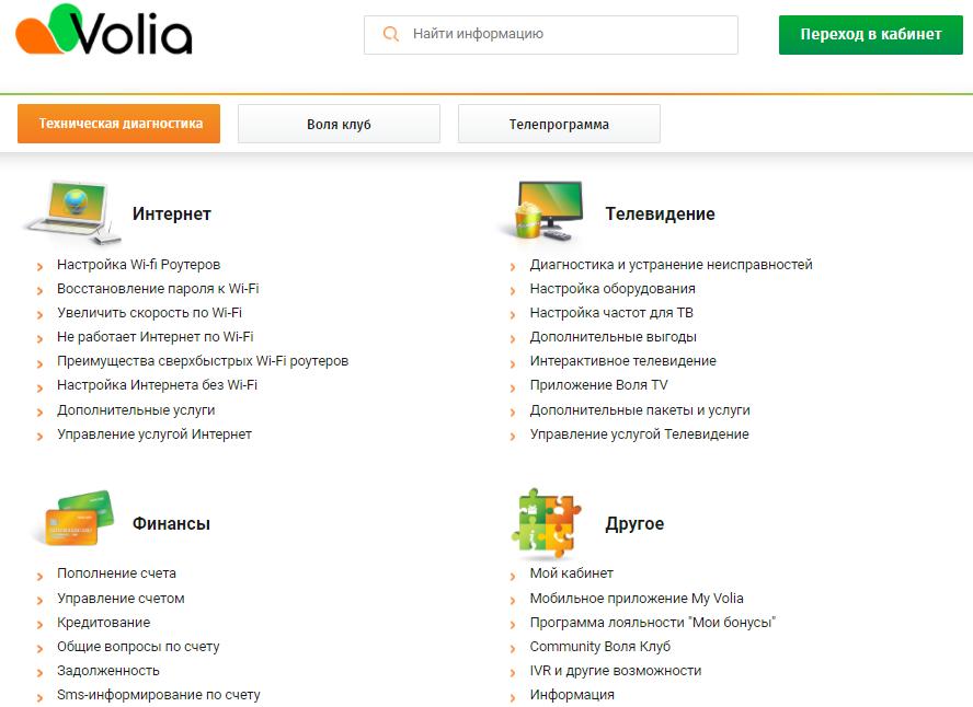 volya spravka - Воля. ТВ, интернет. Личный кабинет.